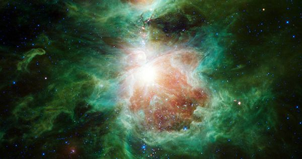 The Cosmic Hearth (Orion nebula) | Image credit: NASA/JPL-Caltech/UCLA, via NASA (spaceimages