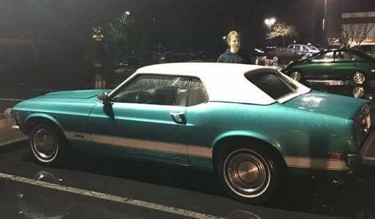 1965 Ford Mustang In Shelby Aqua Mustang Ford Mustang Antique Cars
