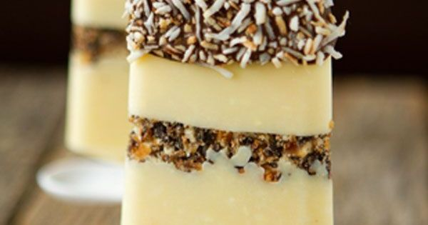 Samoa cookies, Coconut cream pies and Popsicles on Pinterest