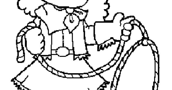 Cowboy Coloring Pages Cowboy Coloring And Games