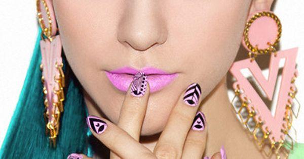 fun nails unhas decoradas nail unhas unha nails unhasdecoradas nailart pink rosa