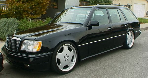 W124 wagon with 18 amg monoblock ii mercedes e500 w124 for Mercedes benz e500 station wagon