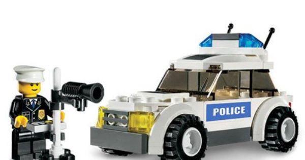 Lego Police Van Instructions 7245