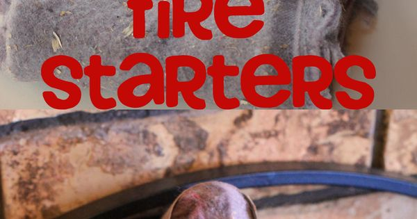 DIY Fire Starters with Toilet Paper Rolls and Dryer Lint-- Take a