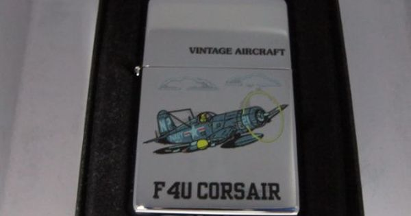 Zippo Vintage Aircraft F4u Corsair High Polished Chrome 516 Visit The Image Link More Details Vintage Aircraft Zippo Camping And Hiking