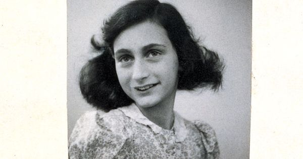 1930's Victim of World War II ANNE FRANK Vintage 8x10 Photo Famous