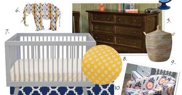 Global Bazaar: Nursery Design Inspiration