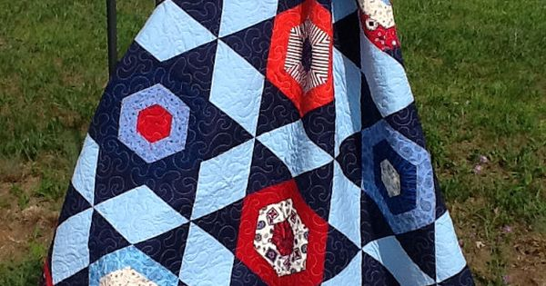 Spotlight Stars Quilt Pattern Digital Quilt of by GardenPathQuilts My Quiltsy Team Pinterest ...