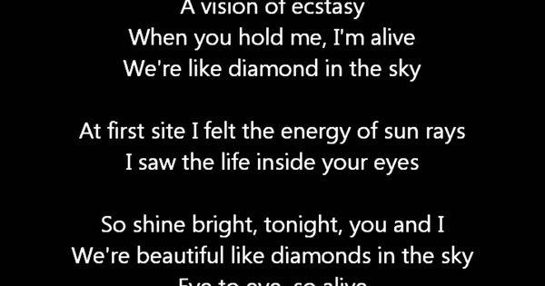 Rihanna Diamonds Lyrics Met Afbeeldingen Muziek
