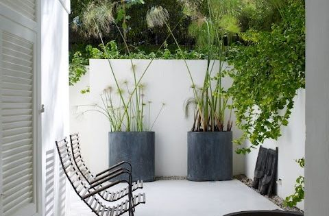 Kleine strakke stadstuin vijver in oud ornament sw trend watertuin pinterest tuin - Deco kleine tuin buiten ...