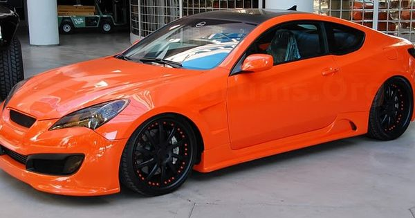 Tricked Out Showkase Super Clean Hyundai Genesis Coupe