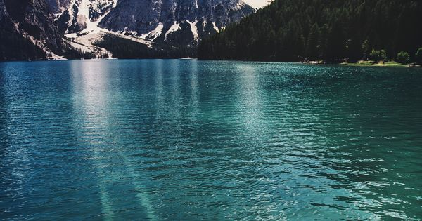 Lake Braies, Dolomiti, Italy