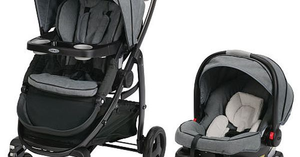 graco modes click connect travel system stroller downton graco babies r us baby stuff. Black Bedroom Furniture Sets. Home Design Ideas