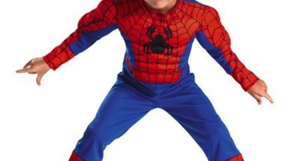 Disguise Toddler Spider Man Muscle Costume. $29.99 Give your super child the