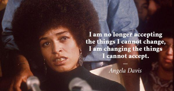 angela davis humanitarian activist warrior queen the