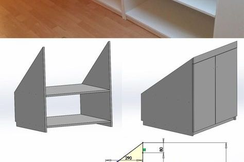 diy einbauschrank stauraumwunder im dachgeschoss einbauschrank dachschr ge und anleitungen. Black Bedroom Furniture Sets. Home Design Ideas