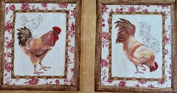 French Country Rooster KitchenDining Room Wallpaper  : f9ef8fc815c4d6e64a6bc0e06f86f9b0 from www.pinterest.com size 600 x 315 jpeg 49kB