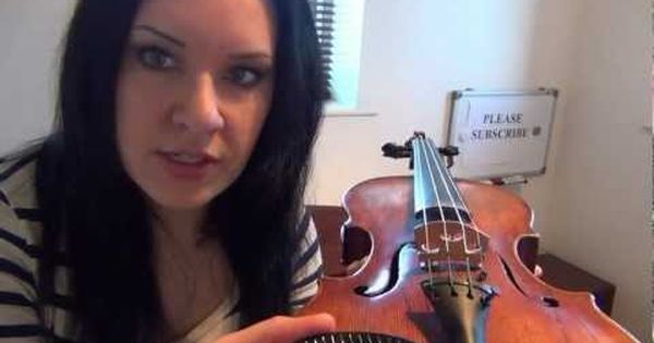 OFFICIAL' How to Play the VIOLIN - Lesson 2 - Different parts of the ...