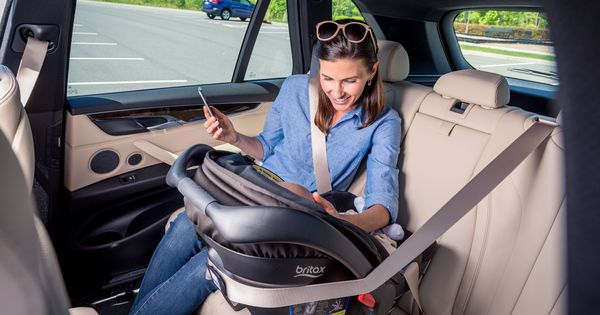 The Britax Endeavours Infant Car Seat Features A European Belt Guide For Secure Installation Without A Base While On The Go Baby Car Seats Car Seats Infant