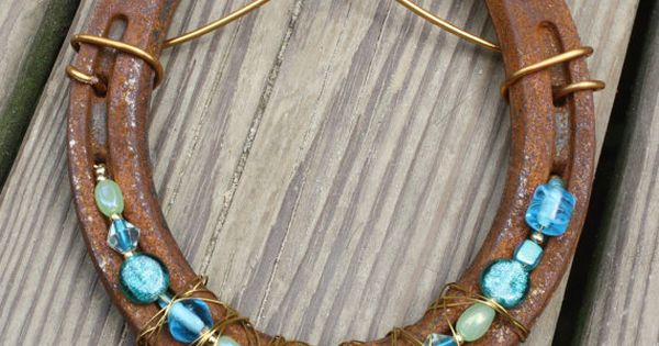 Beaded Horseshoe Craft Items To Make To Sell Pinterest