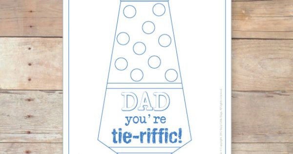 Father's Day You're Tie Riffic