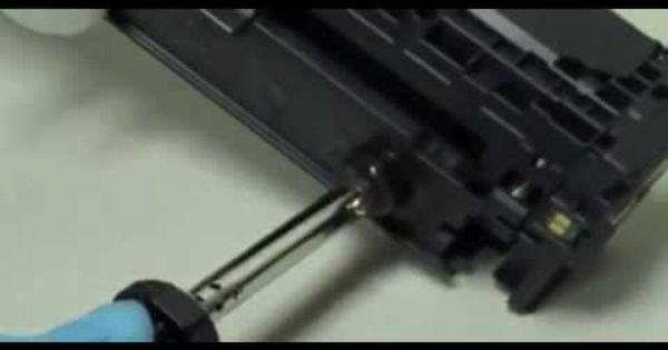 How To Refill Hp 305a 305x Cartridges For M351a M375nw M451dn M451dw