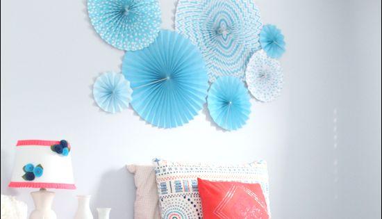 Blue And Coral Kids Bedroom Pinwheels Ikea Dresser Hack