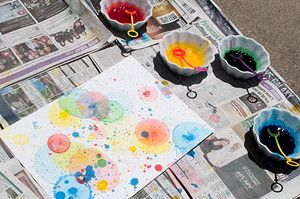Large Scale Bubble Art Projects