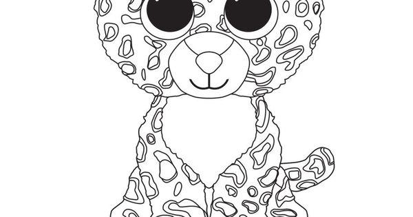Leona The Leopard TY Beanie Boo