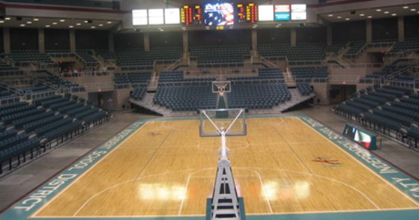 Merrell Center Katy Tx Home Of The Southland Conference Basketball Tournament Worked Some Tournament Gam Tournament Games Basketball Tournament Basketball