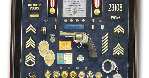 100+ Police Badge Shadow Box Display – yasminroohi