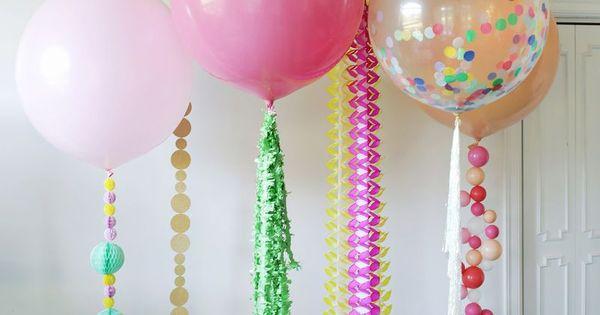 20 Creative Balloon DIYs to Rock at
