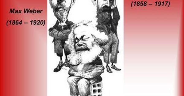 Karl Marx 1818 1883 émile Durkheim 1858 1917 Max