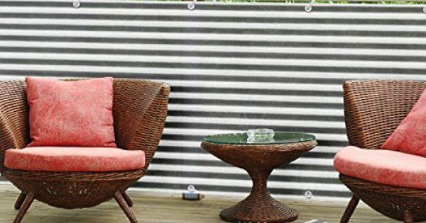balkon sichtschutz uv schutz 90x500cm. Black Bedroom Furniture Sets. Home Design Ideas