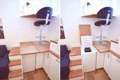 Miniature Renovation Studio 15m2 A Paris 7eme Paris 75007 Francois Ernoult Architecte D Interieur Amenagement Studio 20m2 Cuisine Studio Chambre De Bonne