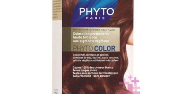 Phyto Phytocolor 6ac Akaju Bakir Koyu Sari Koyu Sarisin Sac