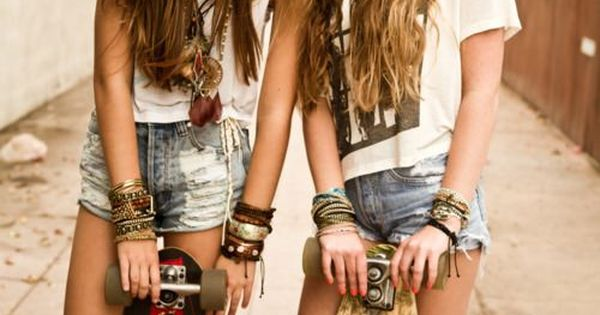 Skateboard, Hipster, Fashion