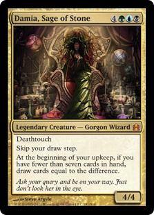 Damia Sage Of Stone Magic The Gathering Commander Gatherer Magic The Gathering Magic The Gathering Magic The Gathering Cards Mtg Decks