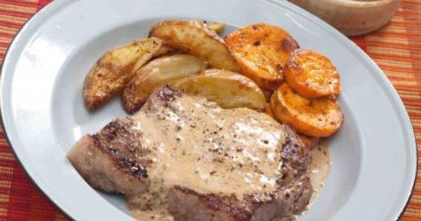 Pepper sauce for steak, Steaks and Sauce for steak on Pinterest