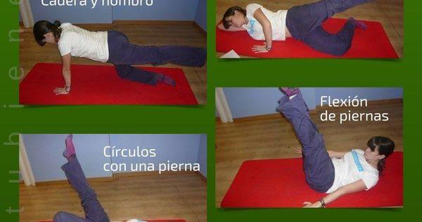 13 ejercicios de pilates para hacer en casa alimentatubienestar infograf as salud y - Como hacer pilates en casa ...