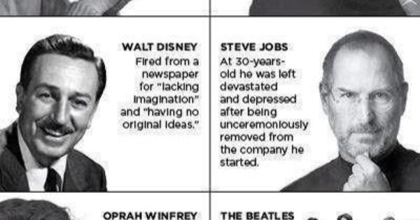 Some of the world's most creative and successful people have experienced obstacles