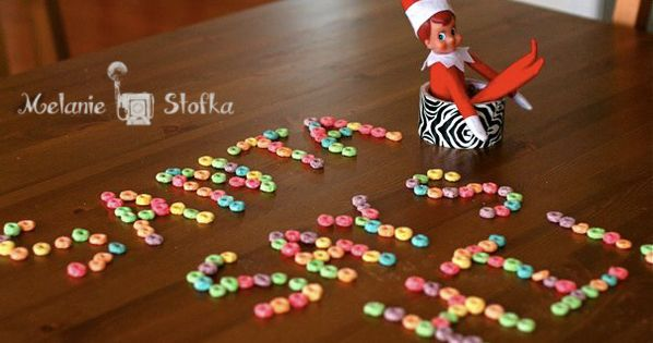 Elf on the Shelf Idea - Elf Message