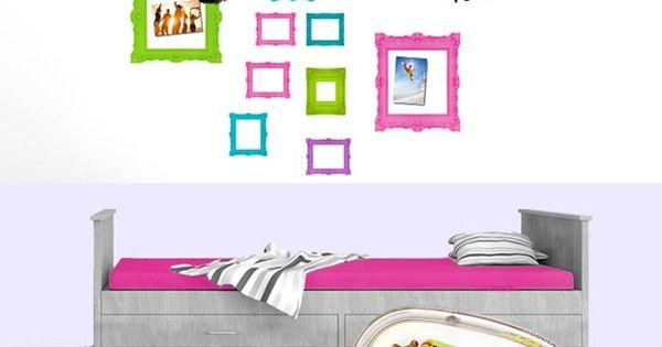 Een leuk idee voor de tiener meiden de 39 saaie 39 slaapkamer kunnen ze eenvoudig oppimpen met hun - Tiener met opbergruimte ...