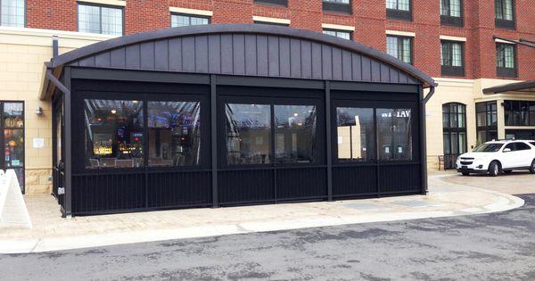 Hickory Tavern Carrboro Nc Alpha Canvas Patio Curtain