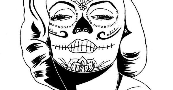 Monroe Sugar Skull
