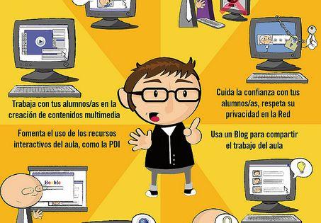 Las TIC en el aula by Formación Guadalinfo, via Flickr /Las TIC