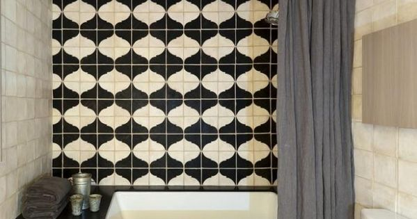 Backsplash tile = Maison Collection at Filmore Clark. Park Slope Residence |