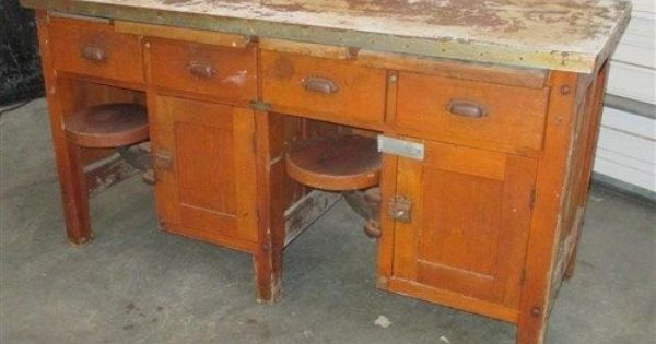 Jewelers Bench School Science Table Student Desk Apothecary Cabinet Display Case Display Cabinet Science Table Student Desks