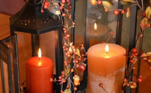 homemade fall decorations and thanksgiving centerpiece ideas