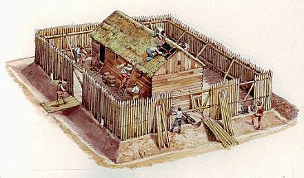 Con la madera de la embarcaci n se hizo el fuerte de la - Pegamento fuerte para madera ...